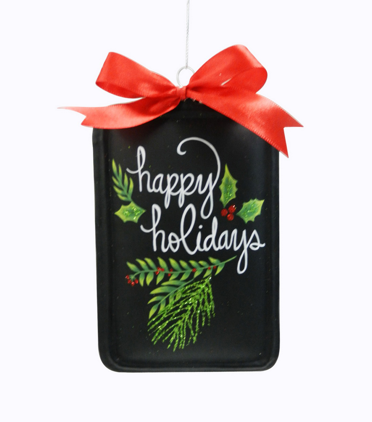 Maker\u0027s Holiday Happy Holidays Chalkboard Ornament