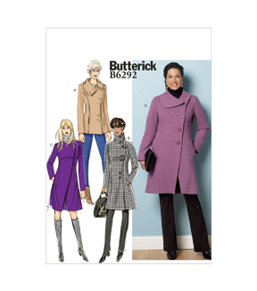 Butterick Misses Outerwear-B6292