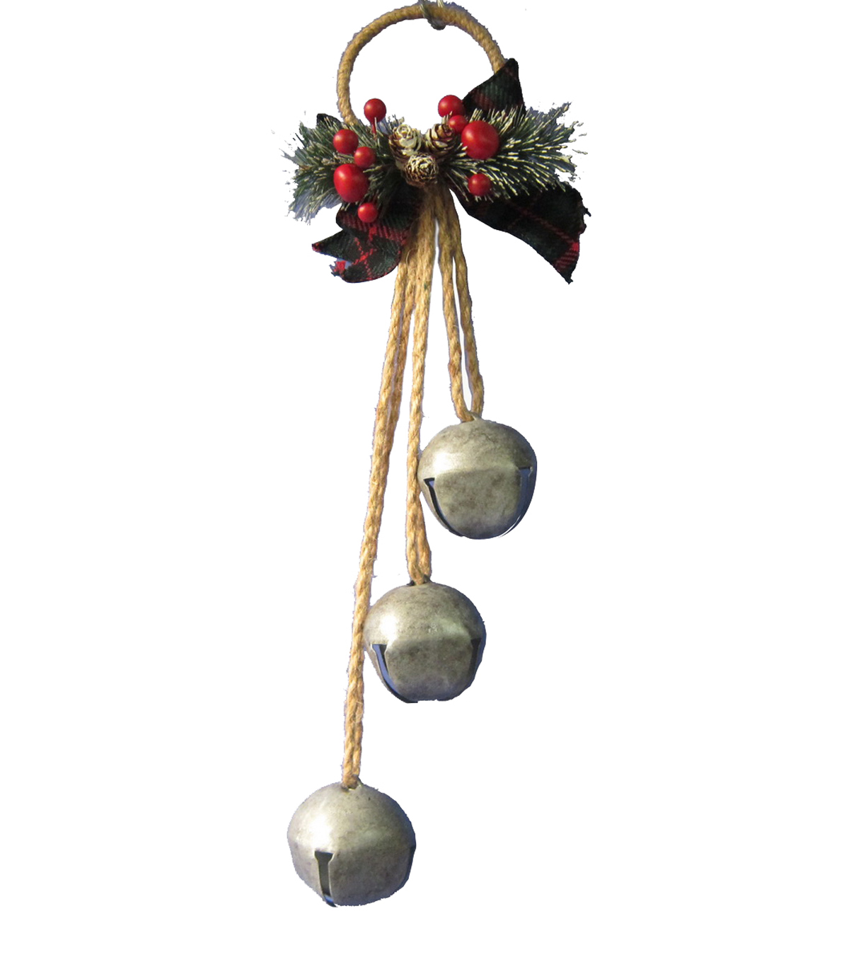 Maker\u0027s Holiday Jingle Bell & Berry Door Hanger