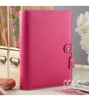 Webster's Pages Color Crush A5 Planner Kit-Fuchsia