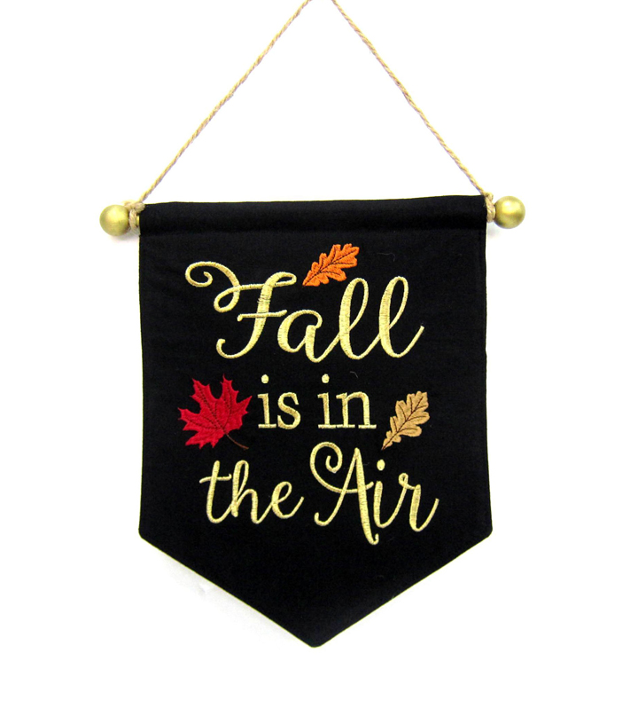 Fall Into Color Mini Banner-Fall Is In The Air
