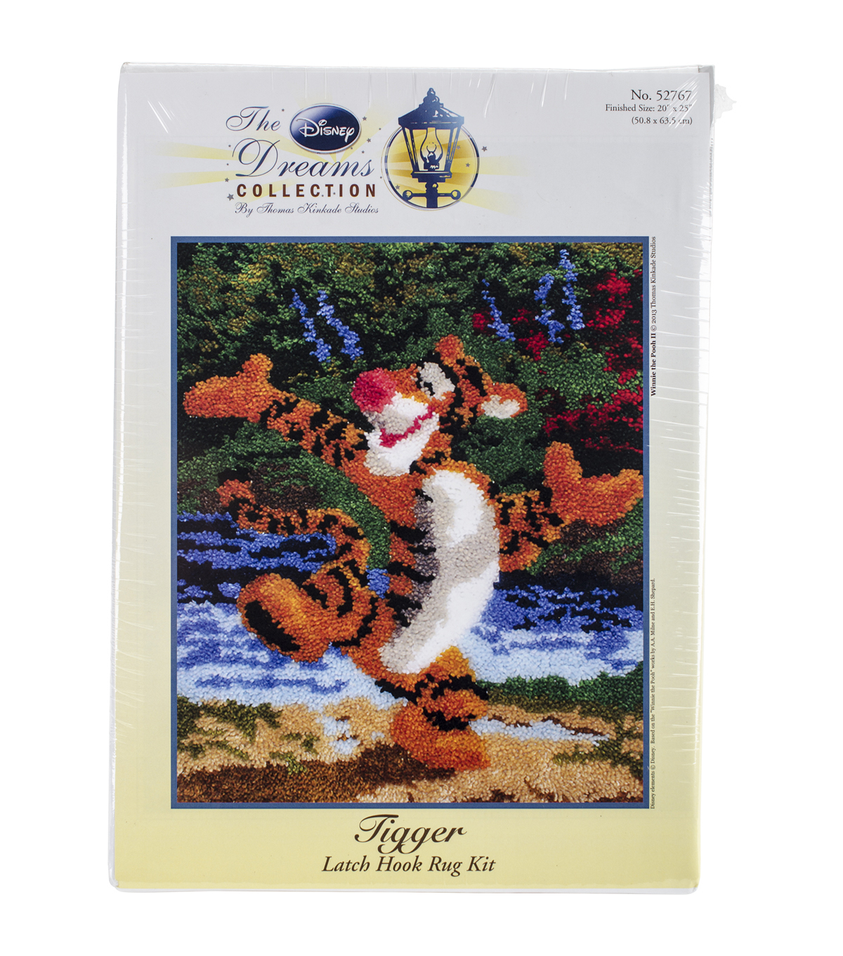 "Latch Hook Kit 20""X25""-Tigger"