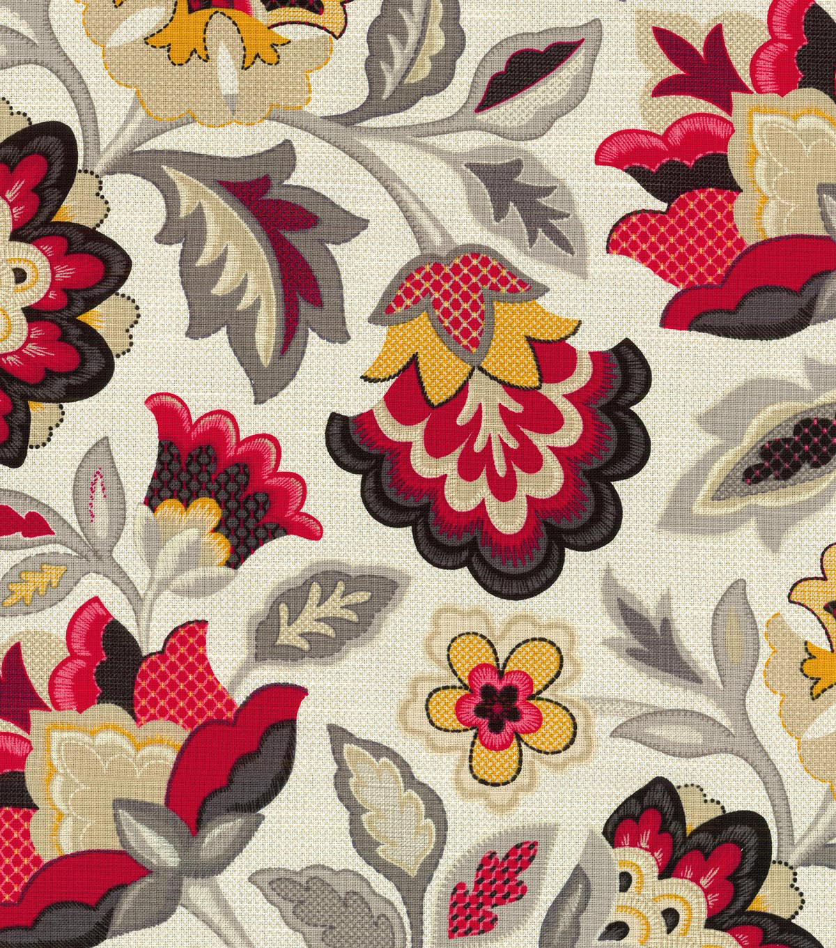 "Waverly Upholstery Fabric 54""-Katia Licorice"