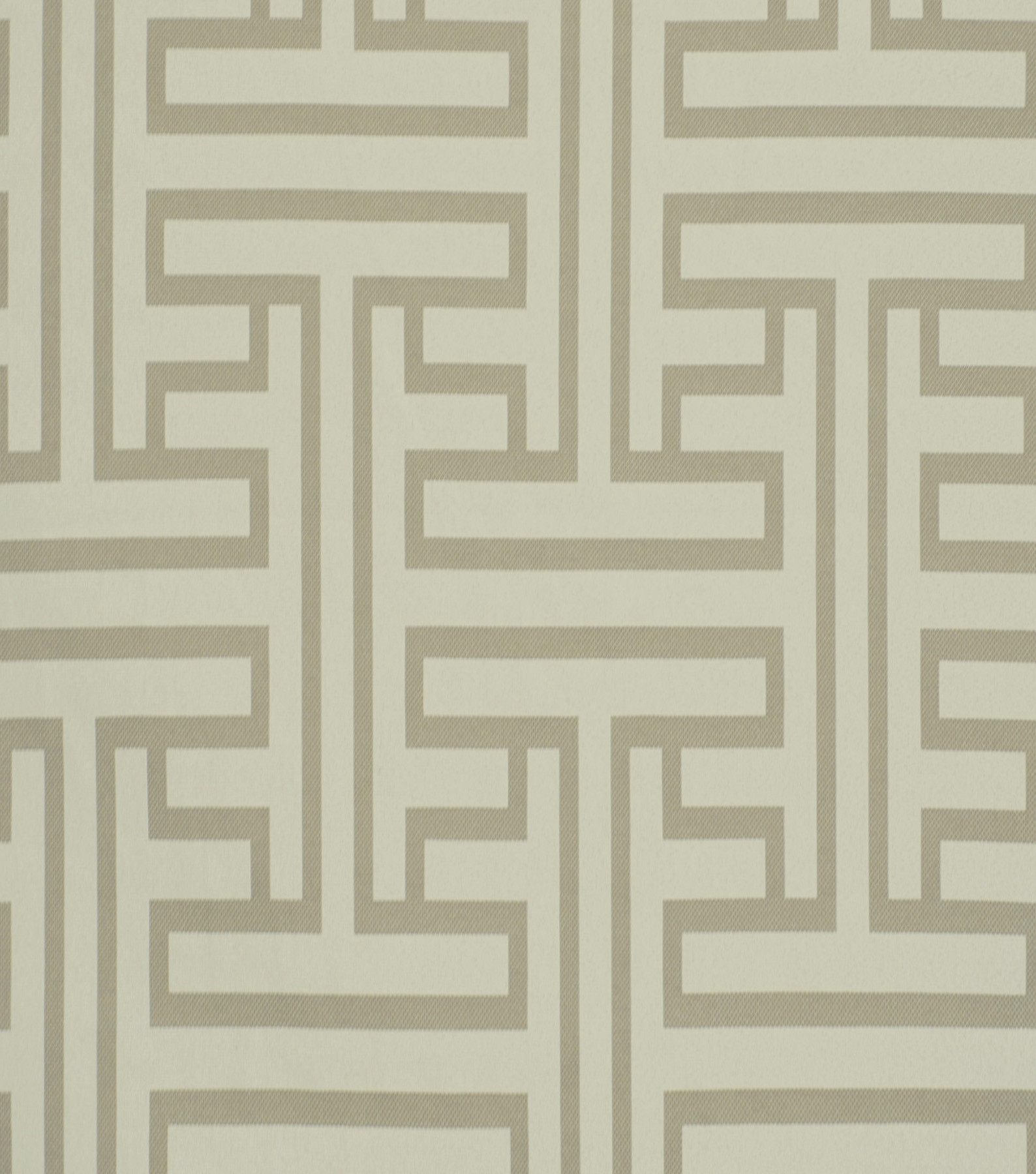 Home Decor 8\u0022x8\u0022 Fabric Swatch-Solid Fabric Robert Allen Ming Fret Taupe