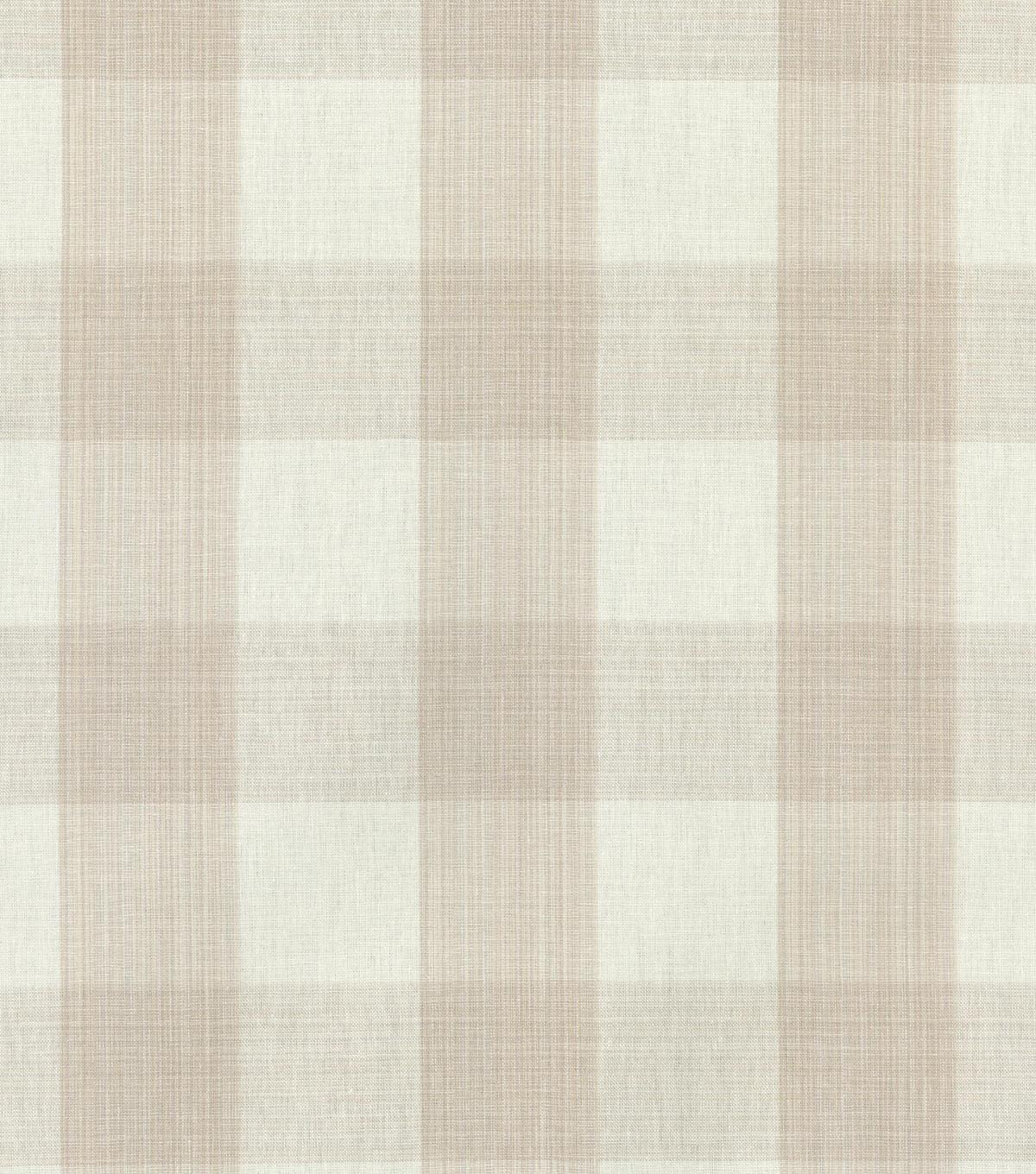 Home Decor 8\u0022x8\u0022 Swatch Fabric-Williamsburg Stratford Check Linen