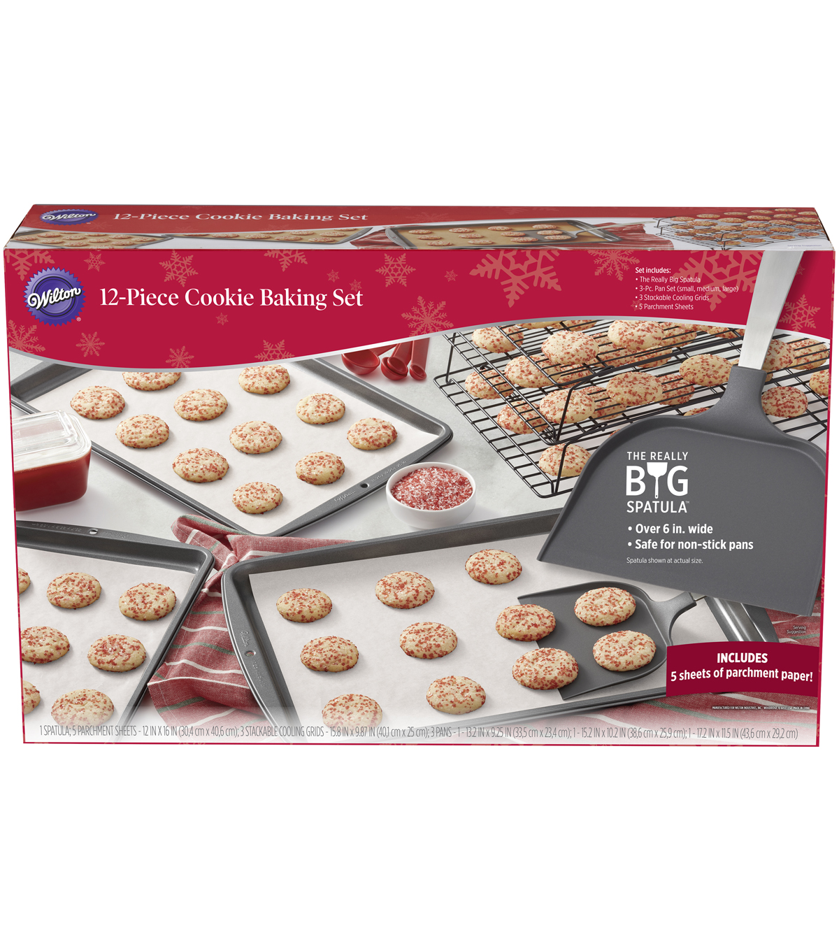 Wilton® 12-Piece Cookie Baking Set