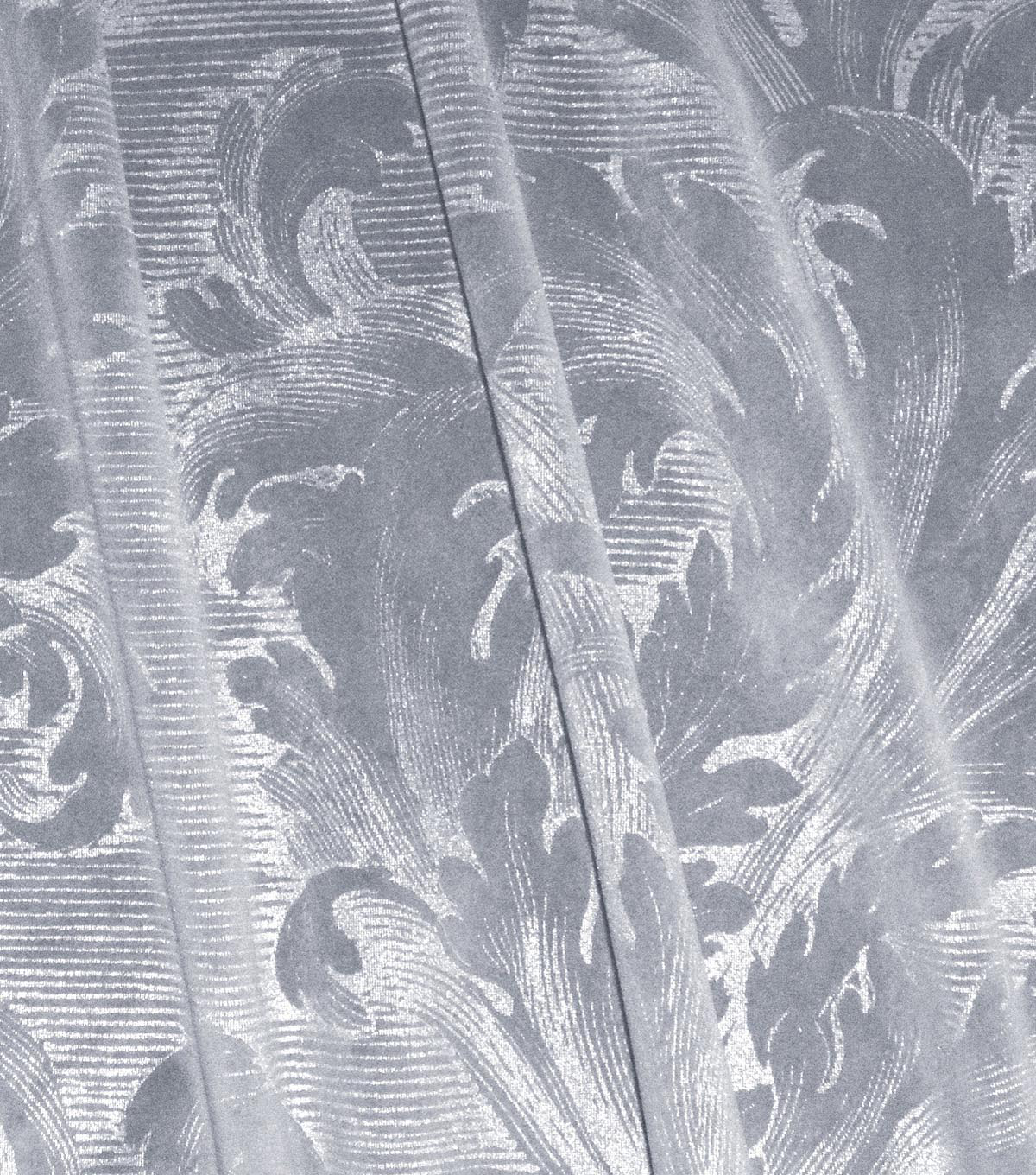 Waverly Upholstery Fabric 54\u0027\u0027-Frost Scroll Call