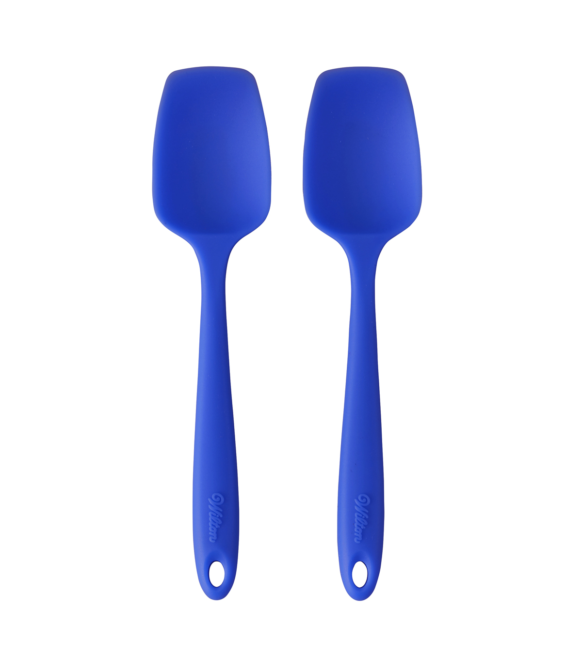 Wilton® Mini 2pc Silicone Spoonula Set-Blue