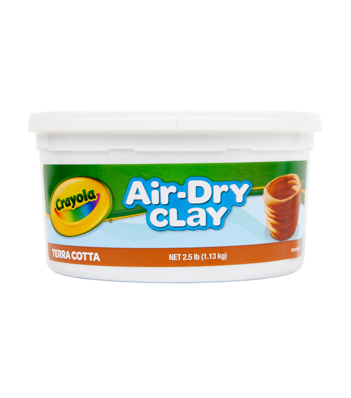 Crayola Air-Dry Clay 2.5lb-Terra-Cotta