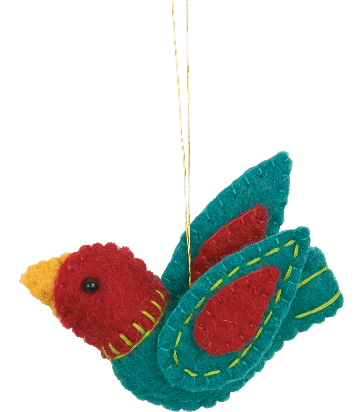 Feltworks Felt Bird Ornaments 3\u0022X2\u0022