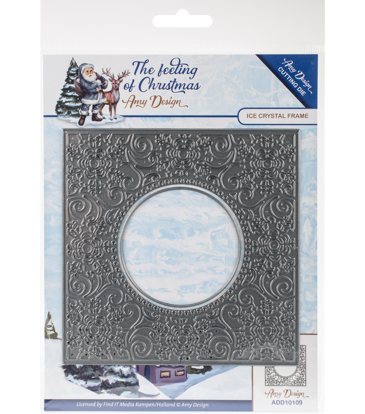 Find It Trading The Feeling of Christmas 2 pk Dies-Ice Crystal Frame