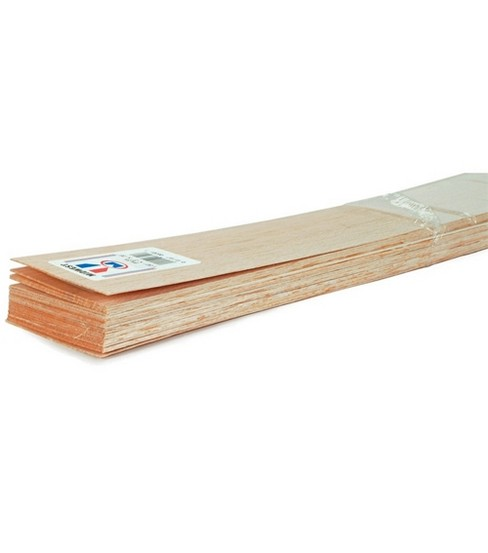 Balsa Wood 36\u0022 Sheets-20PK/1/16\u0022X3\u0022