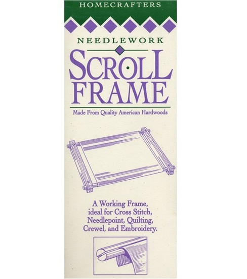"Homecrafters Deluxe Hardwood Scroll Frame 9"" x24"""