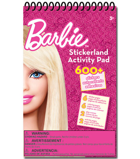 Barbie Stickerland Activity Pad