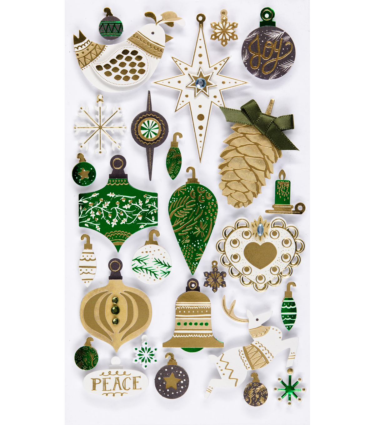 Jolee's Boutique® Stickers-Holiday Ornaments
