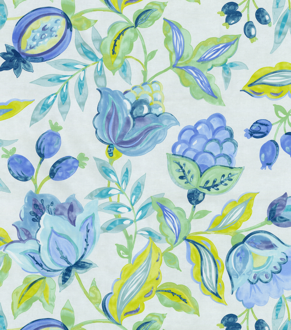 "Waverly Print Fabric 54""-Modern Poetic/Aquarium"