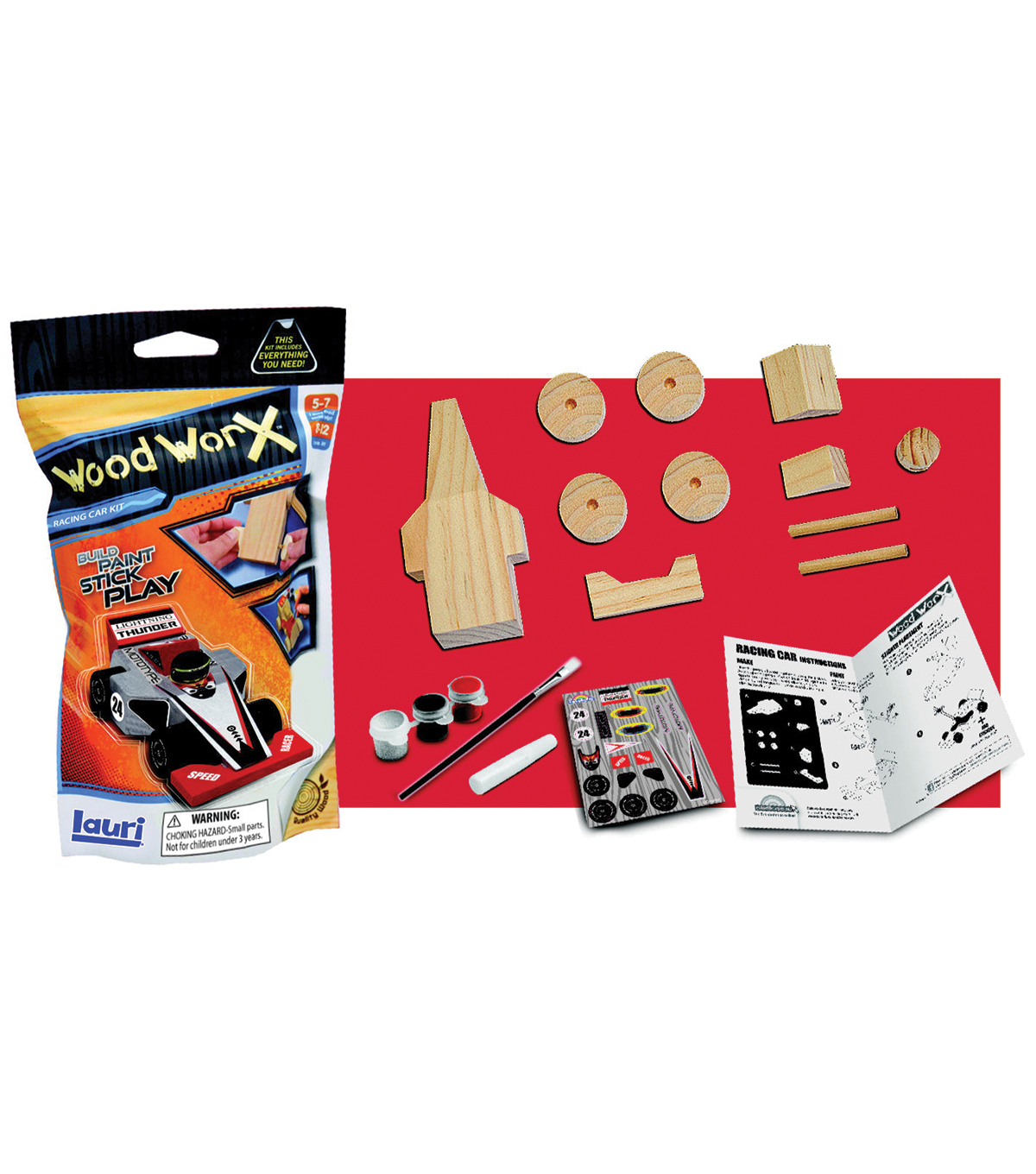 Wood WorX Kit-Racing Car