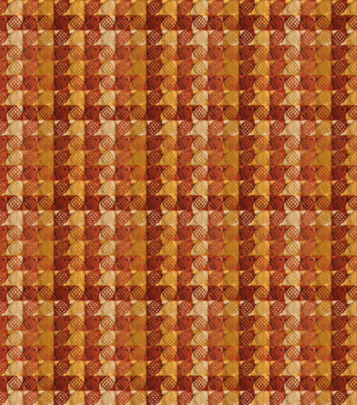 Home Decor 8\u0022x8\u0022 Fabric Swatch-HGTV HOME Checkered Past Harvest
