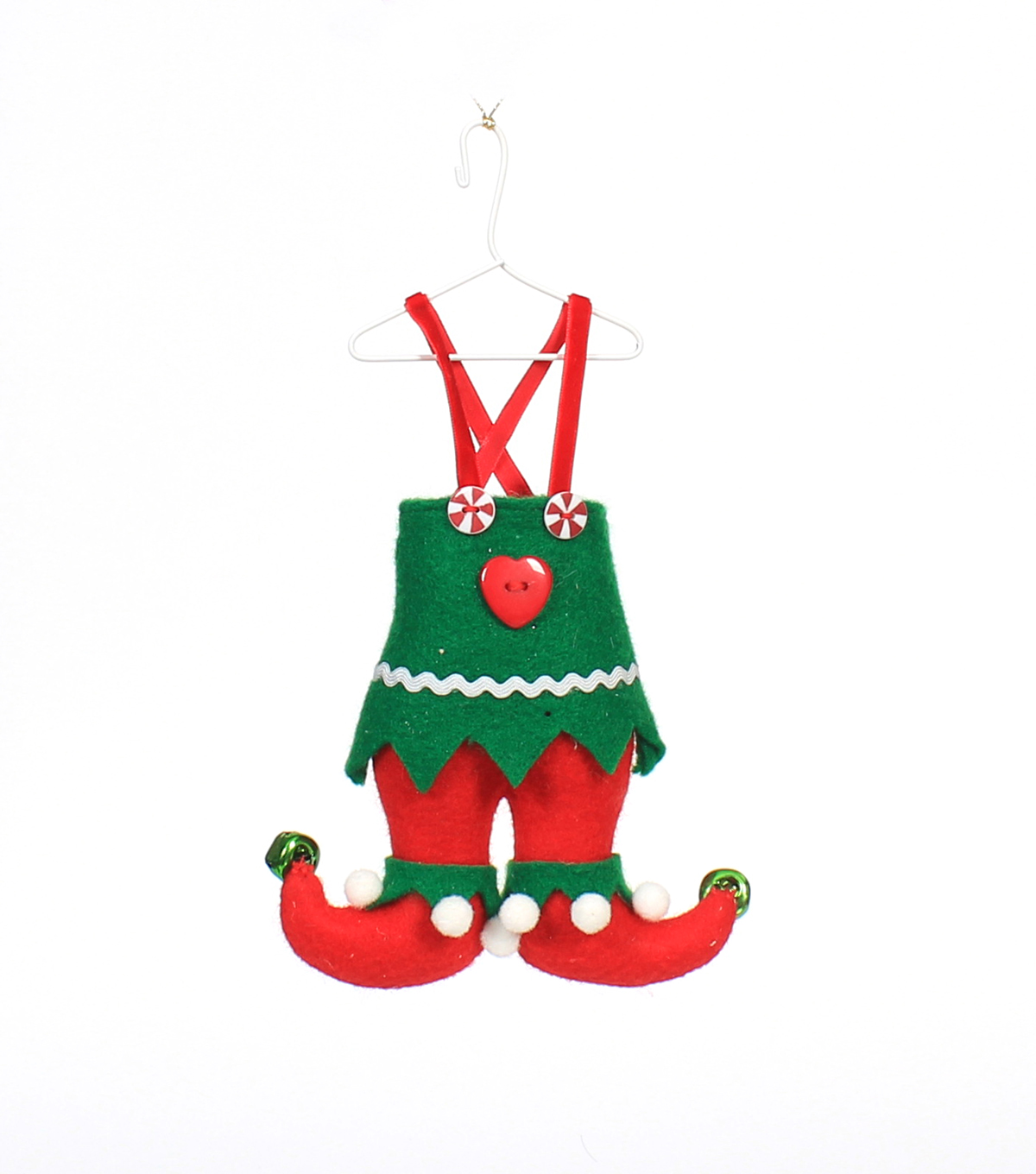 Maker\u0027s Holiday Christmas Polyester Felt Elf Pants Ornament