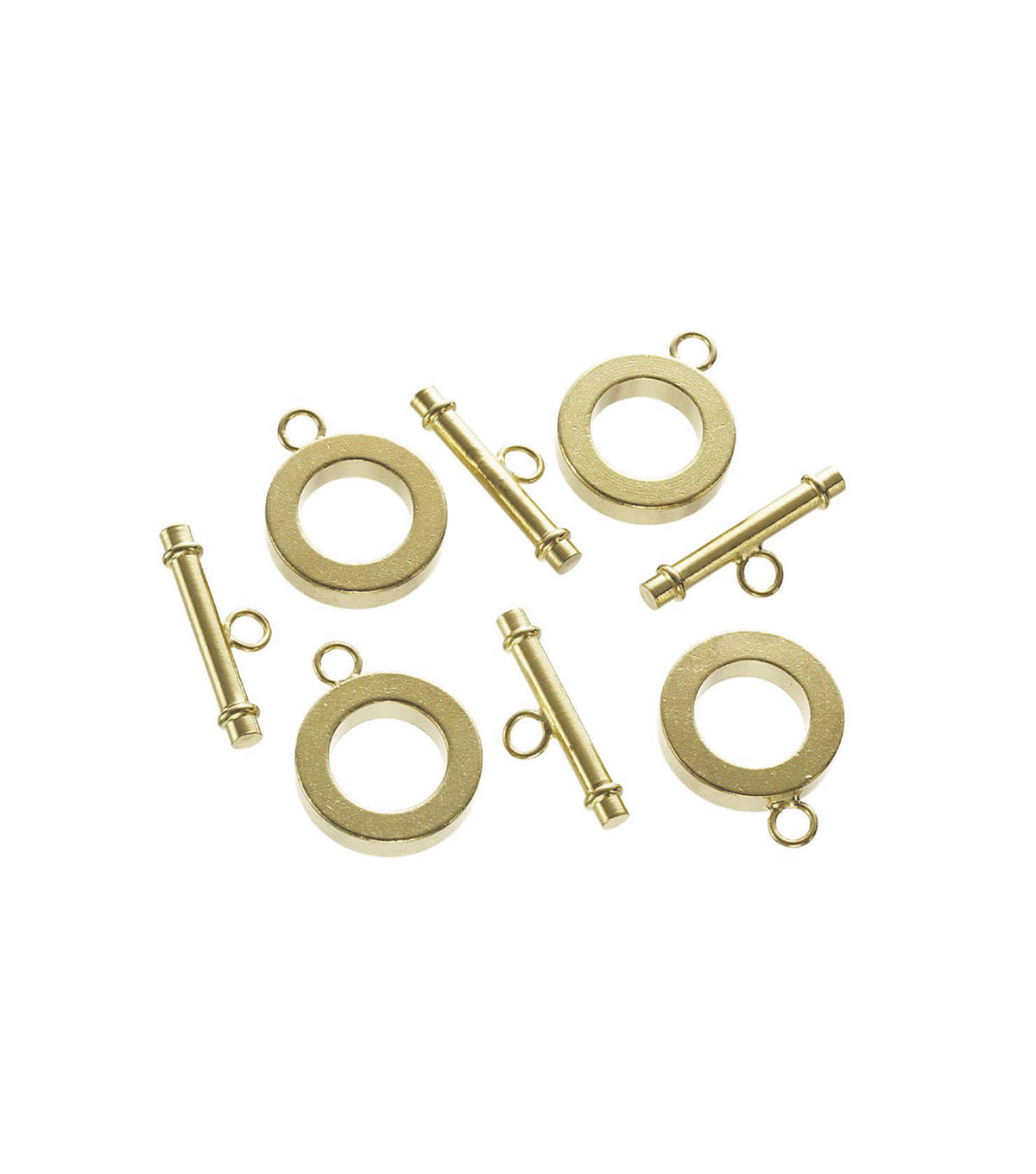 Toggle Clasp/Ring Gold