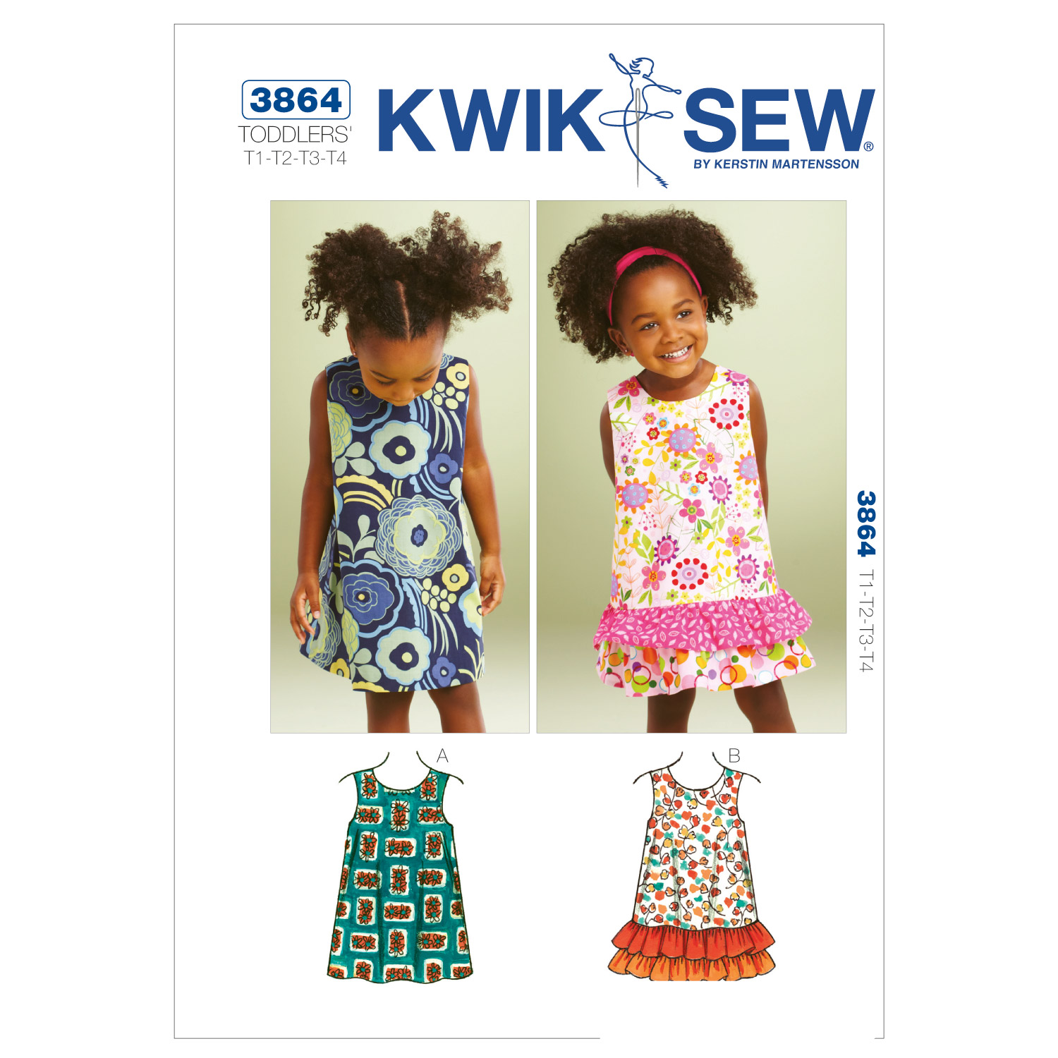 Kwik Sew Toddler Dress-K3864