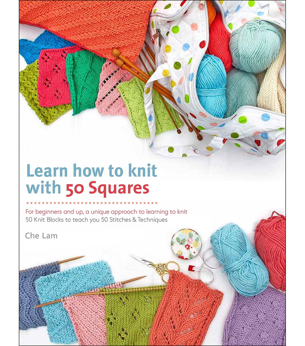 St. Martin's Books-Learn How To Knit With 50 Squa