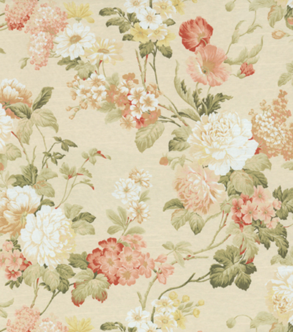Home Decor Print Fabric-Richloom Studio Moments Coral