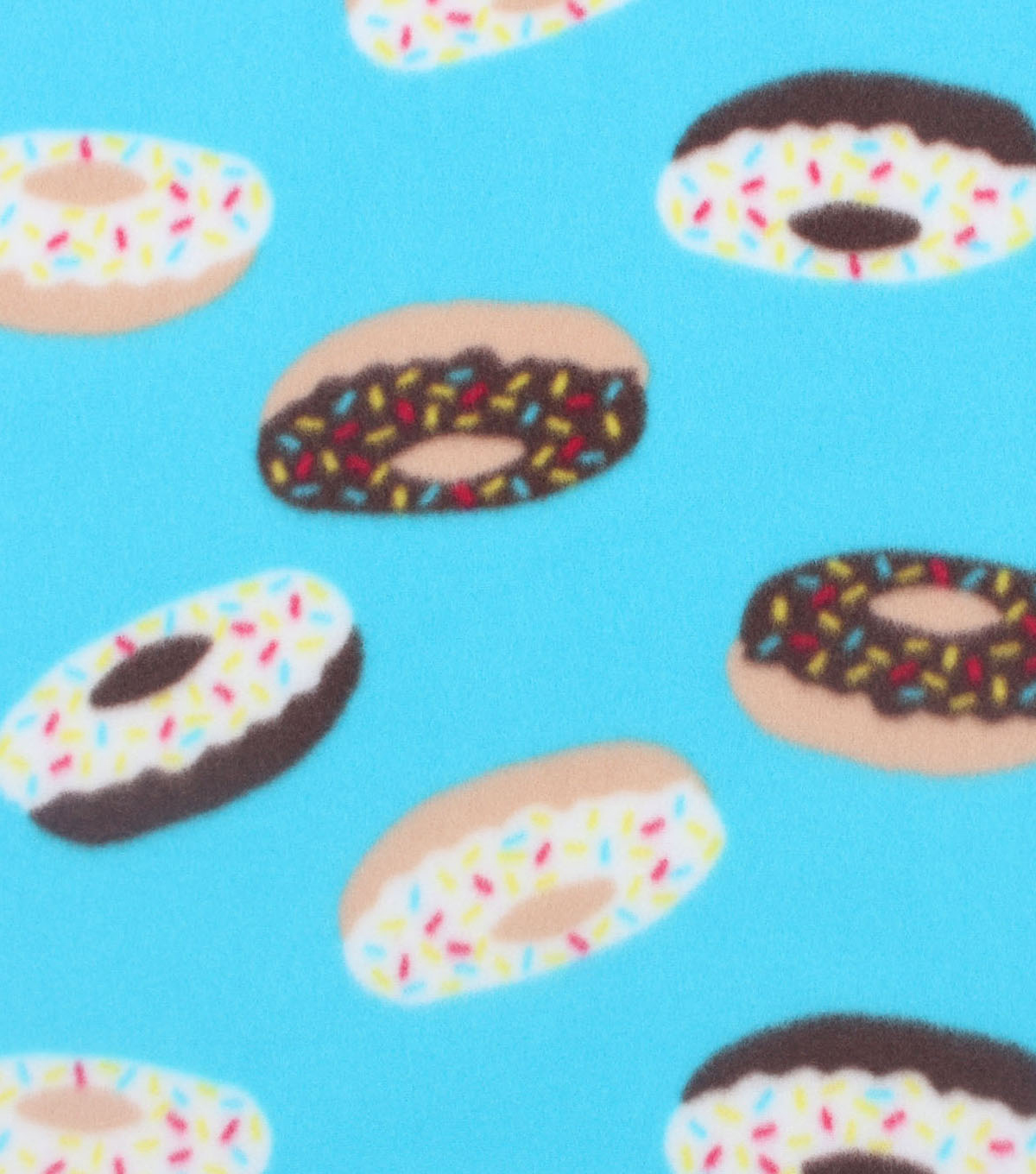 Blizzard Fleece Fabric 59\u0022-Yummy Donuts