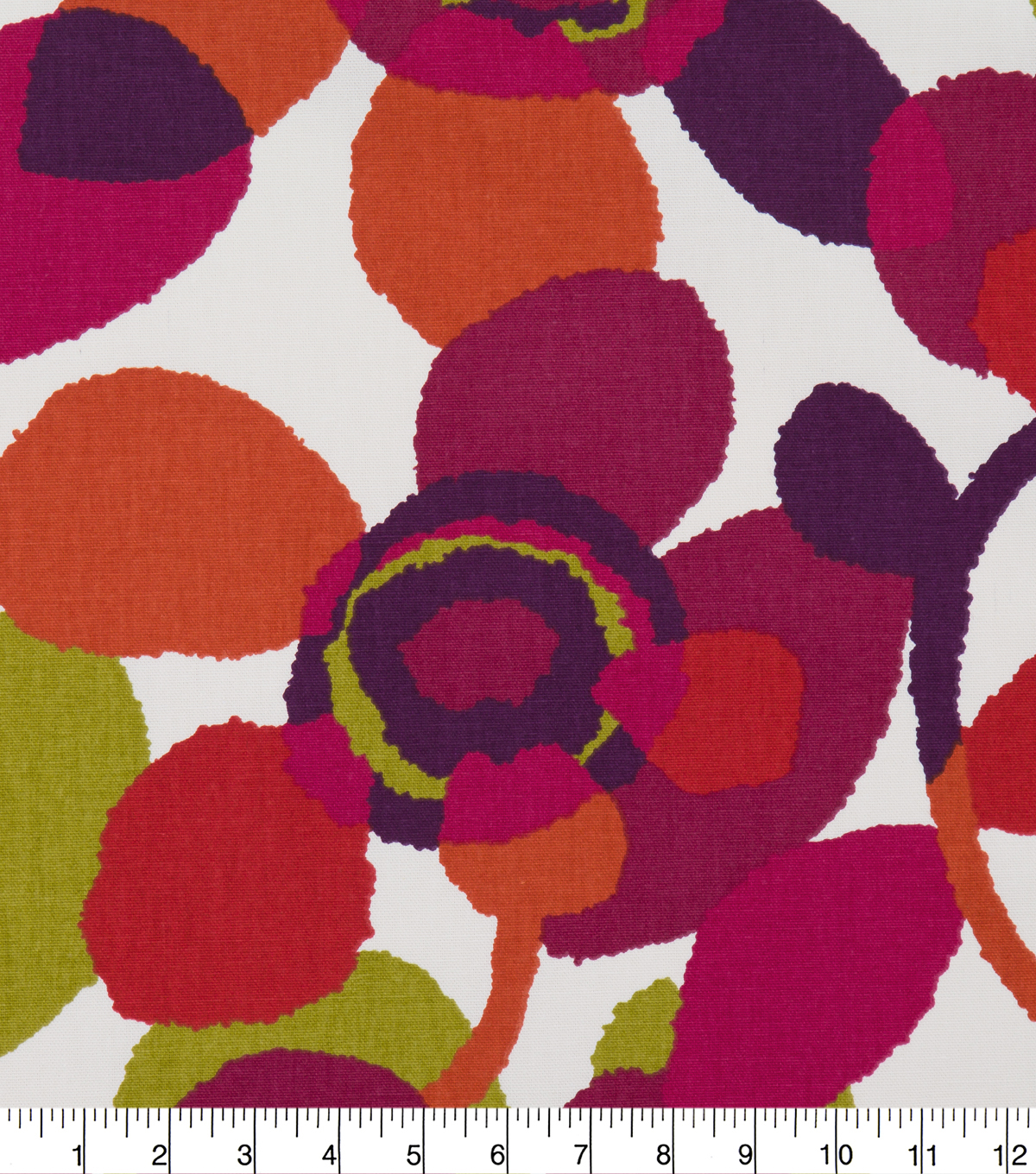 Robert Allen @ Home Print Fabric 55\u0022-Abstract Flora Poppy