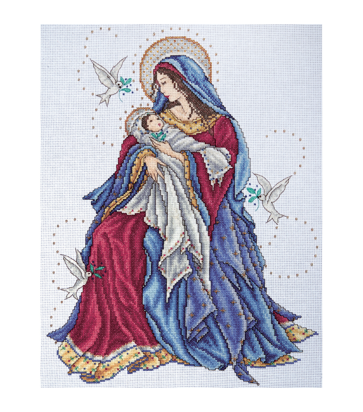 Tobin Counted Cross Stitch Kit Madonna & Child