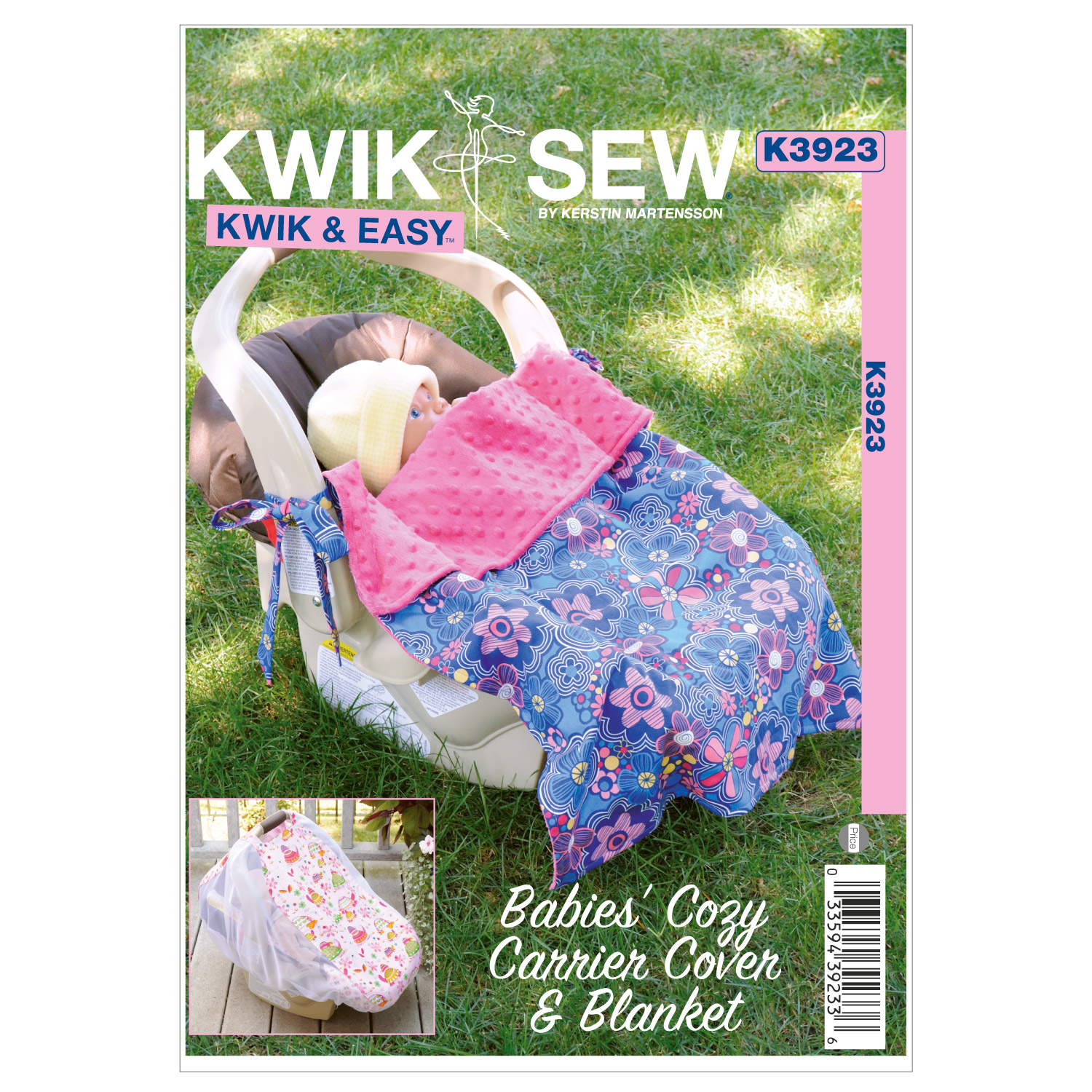Kwik Sew Babies' Cozy Carrier Cover & Blanket-K3923