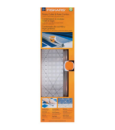 "6""x24"" 45mm Rotary Ruler Combo"