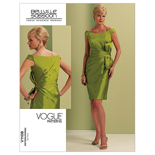 Mccall Pattern V1108 Aax (4-6-8-Vogue Pattern