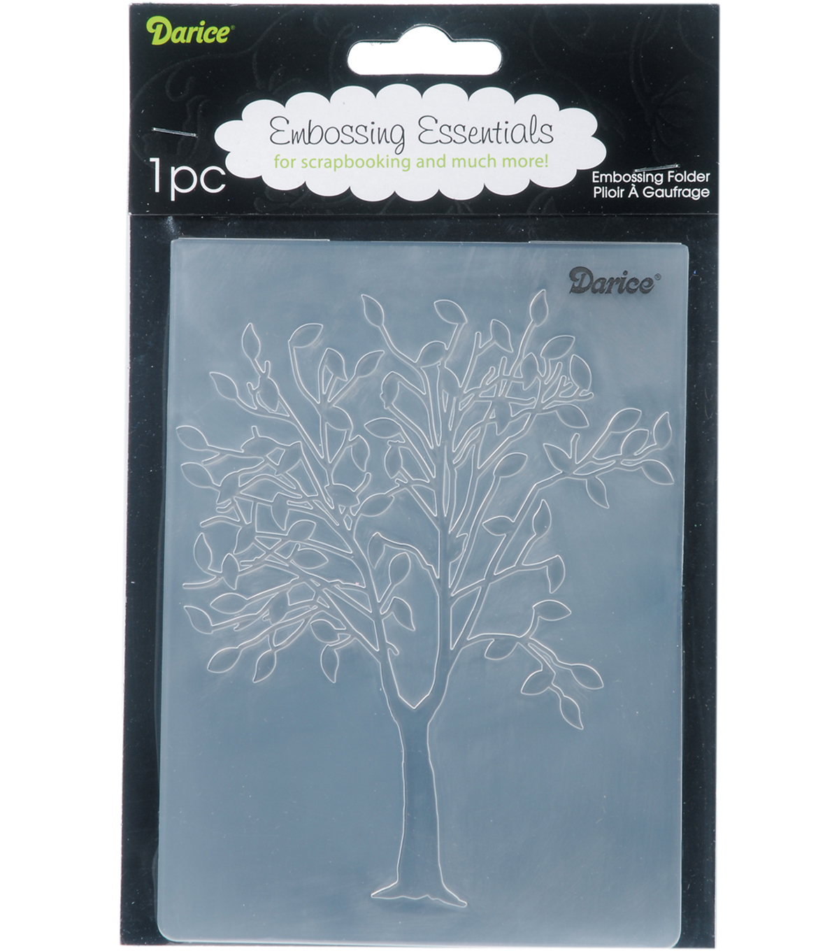 Embossing Folder 4.25\u0022X5.75\u0022-Falling Leaves
