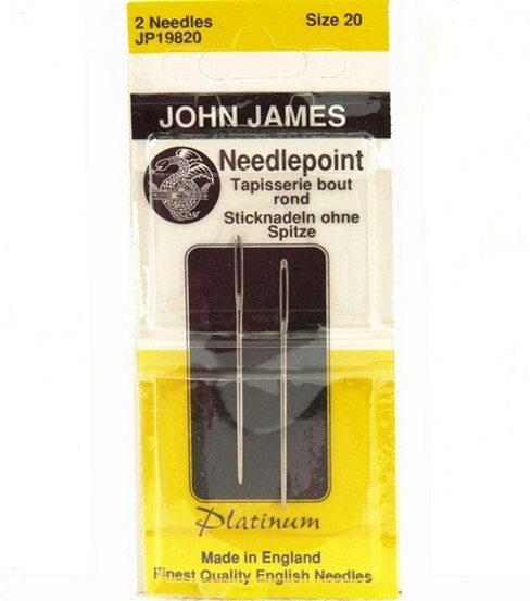 John James Platinum Tapestry Hand Needles