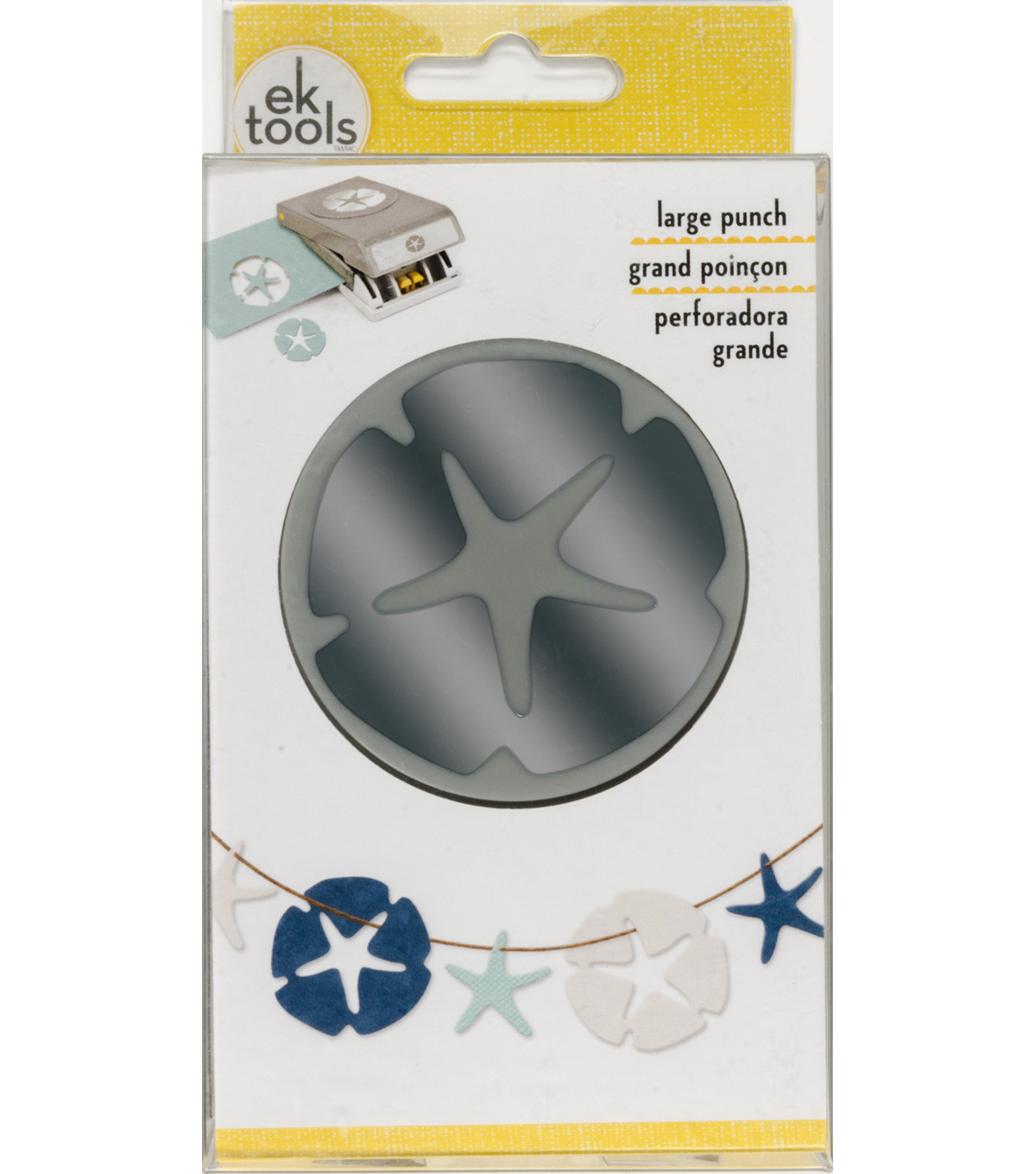 EK Tools Double Punch-Sand Dollar