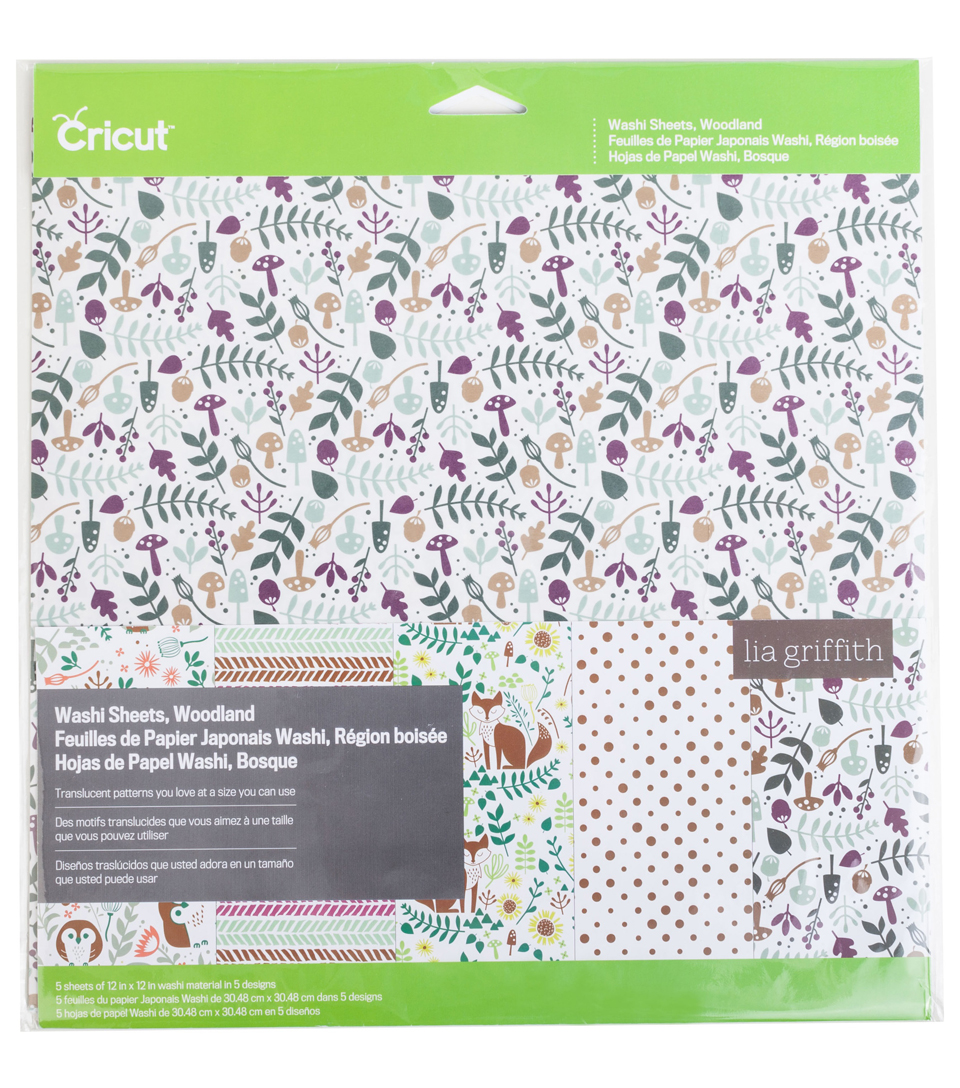 Cricut® Washi Sheets Woodland
