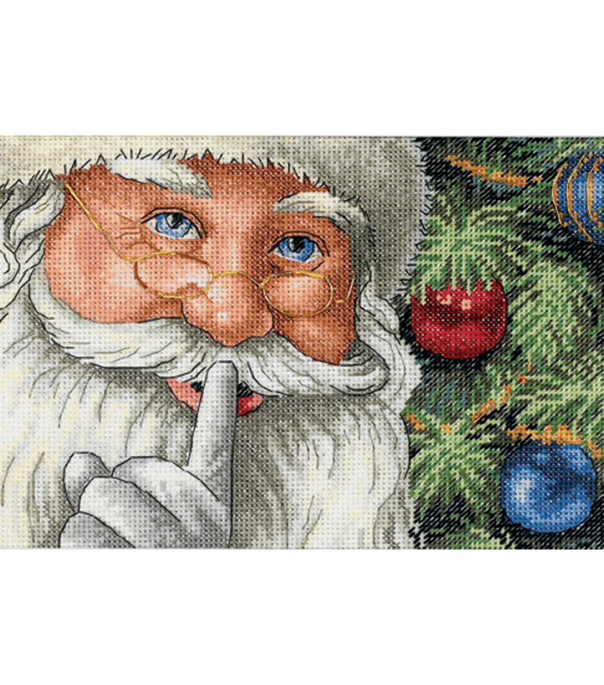 Dimensions Counted Cross Stitch Santa\u0027s Secret