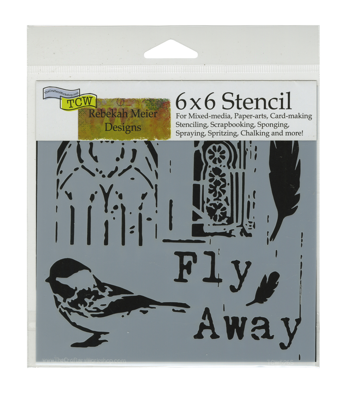Crafter\u0027s Workshop Flyaway Template 6\u0027\u0027x6\u0027\u0027