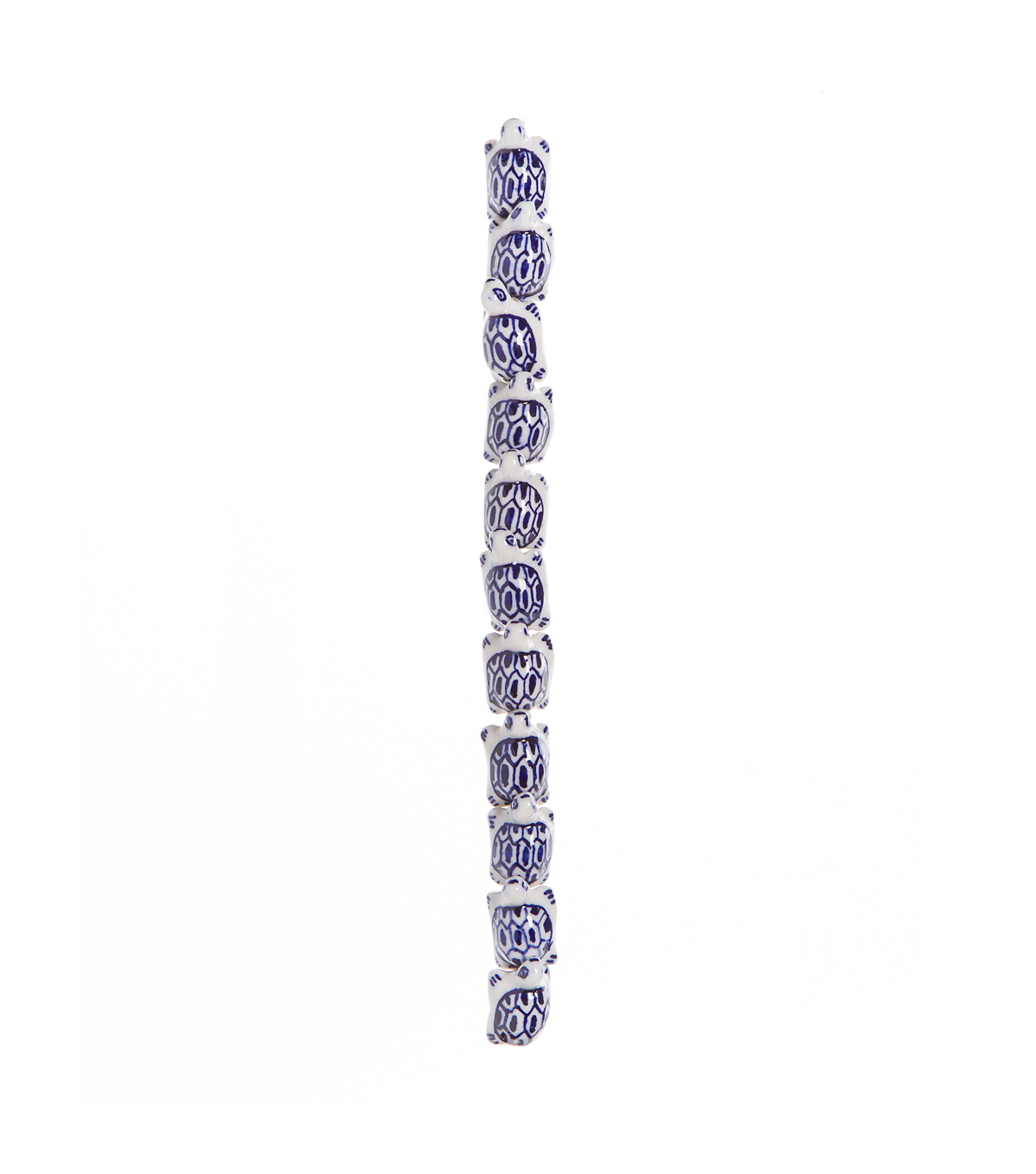 Royal Turtle-Shaped  Beads, 7-inch Strand