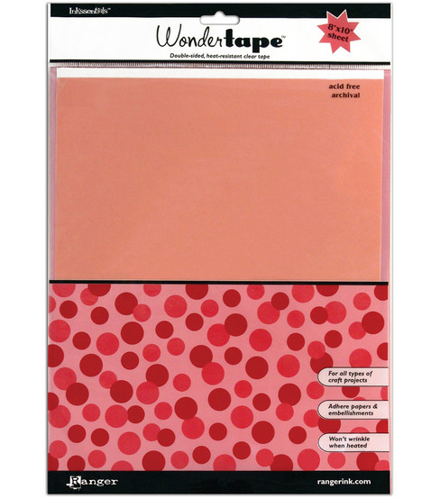 Ranger 8\u0022x10\u0022 Inkssentials Redline Wonder Tape Sheet