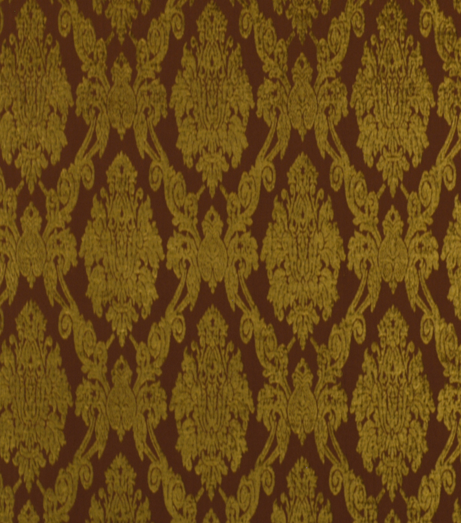 Home Decor 8\u0022x8\u0022 Fabric Swatch-Robert Allen Royal Damask Henna