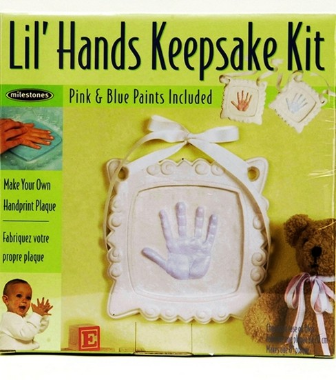 Lil\u0027 Hands Keepsake Frame Hand Kit