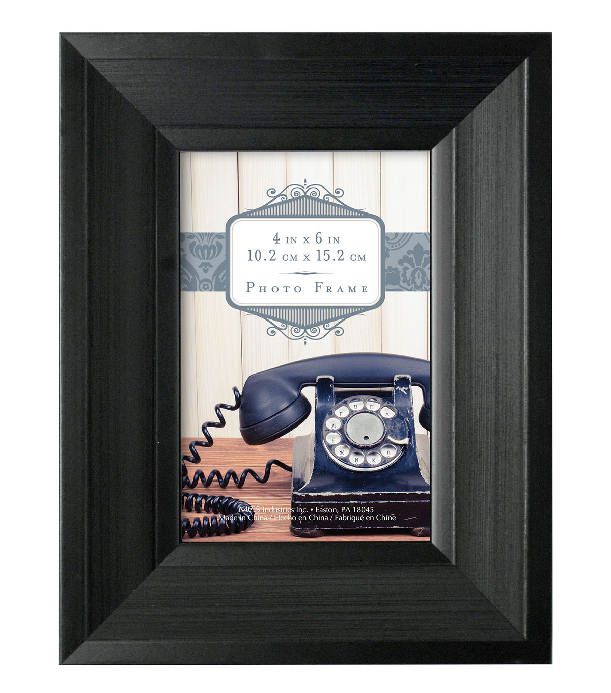 Tabletop Frame 4X6-Ascot Black