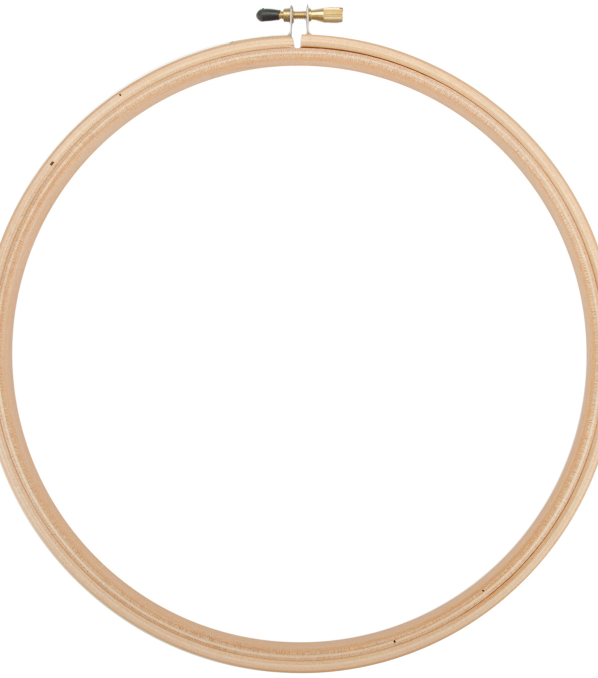Frank A. Edmunds Wood Embroidery Hoop w/Round Edges 12\u0022-Natural