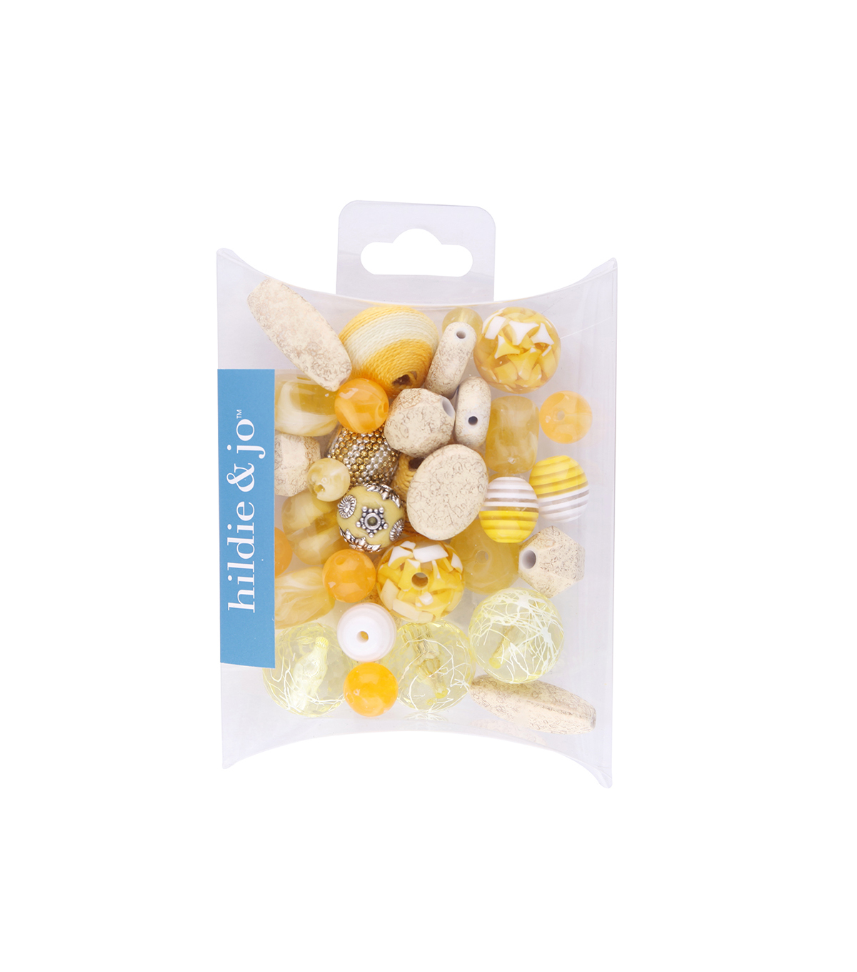 hildie & jo Mix Beads-Yellow
