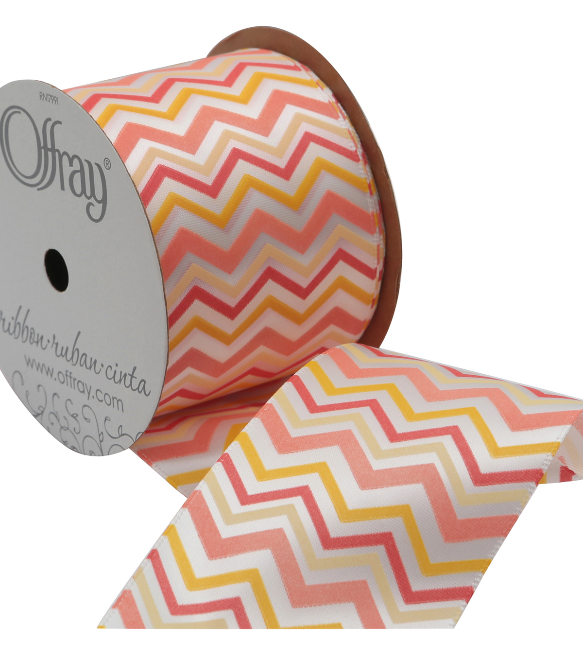 2 And One Qtr Geo Garden Chevron Ribbon