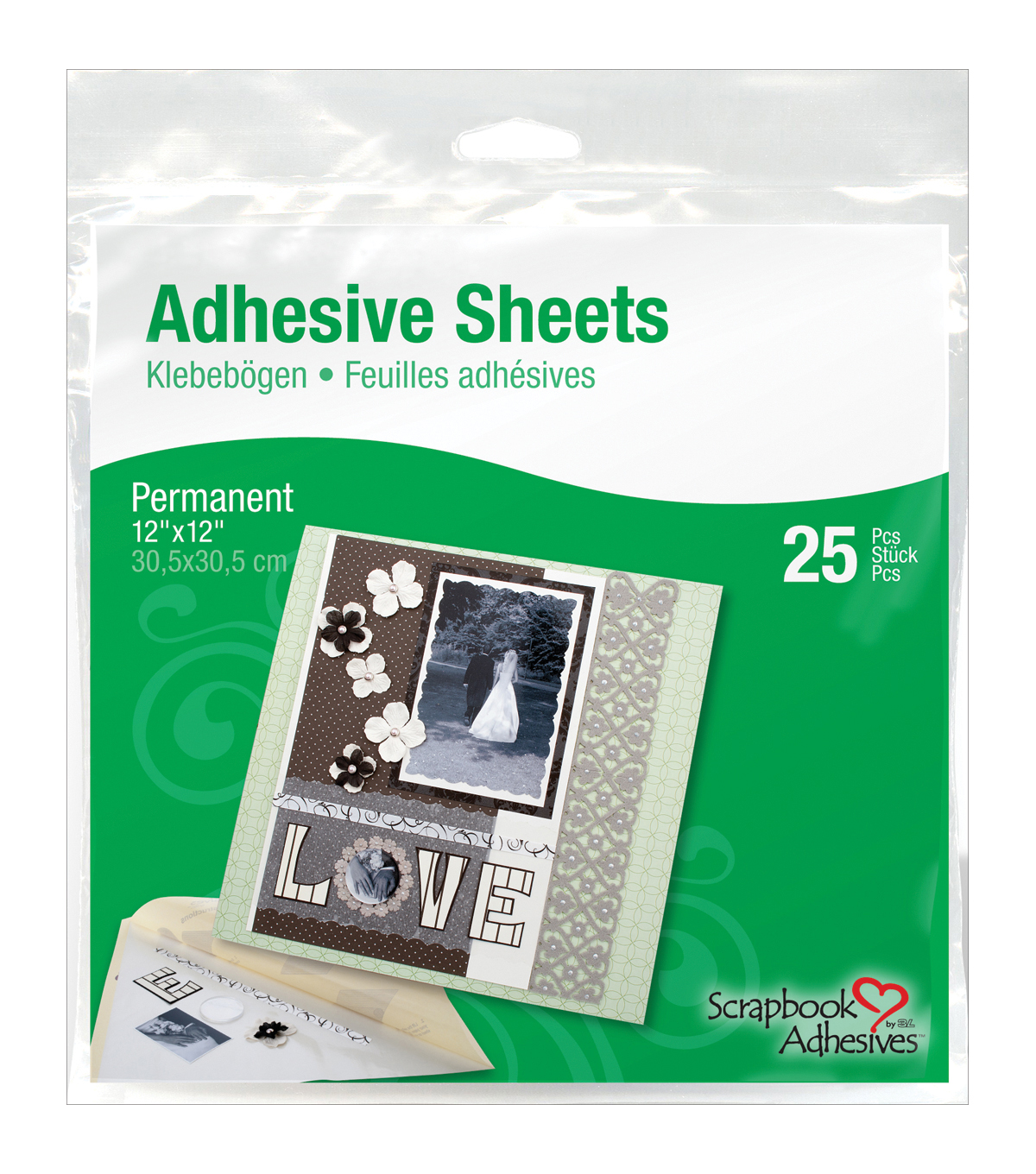 3L Permanent Adhesive Sheets