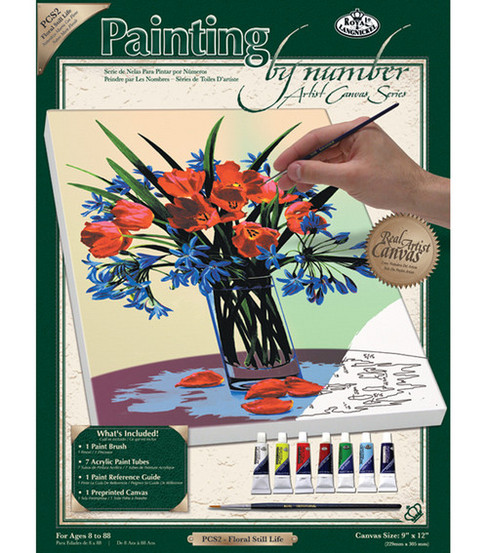 Royal Langnickel Paint By Number Kits Floral Still Life