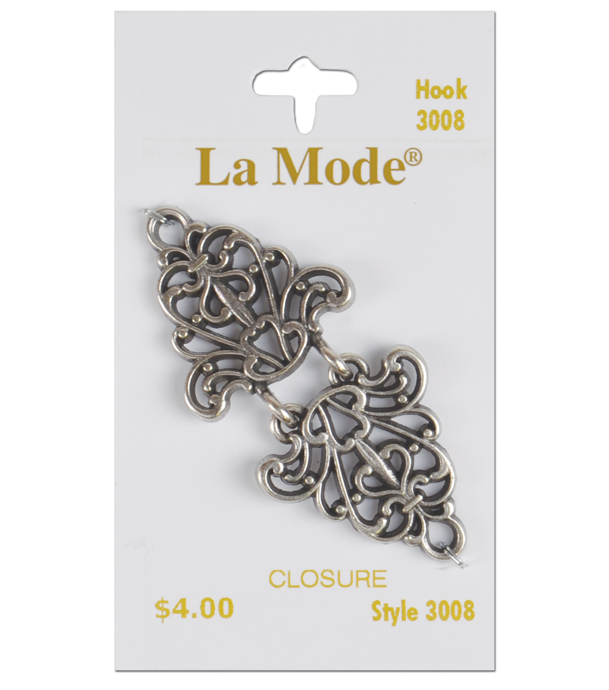 Clasps/Buckles-Antique Silver